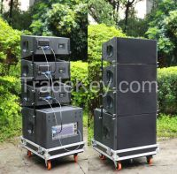 "Dual 10"" Q1 active line array system with DSP"