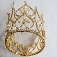 New Rhinestone round crown