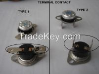KSD Thermostat with Different Terminal