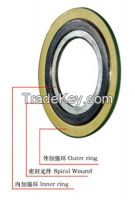 Spiral Wound Gasket of Industrial Metal Gasket