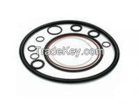 Metal O-ring And Non-metal Ruber O-ring Gasket