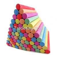 Dustless Teaching Chalk in color box , Blackboard chalk , chalk for school, 100pcs hot sell coloured chalk dustless chalk good for school
