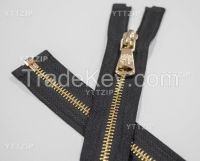 3# lace 5# Metal zipper 2 way close ended