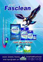detergent powder fasclean brand