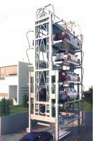Advanced technology vertical rotary parking equipment