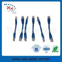 4p twisted pair Rj45 fluke test CU utp cat5e patch cord cable