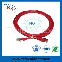 26AWG copper conductor cat5e utp rj45 8p8c patch cord cable