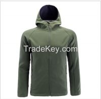 2016 high quality outdoor men's softshell jacket