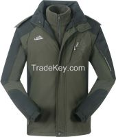 2015 new style men winter Jackets with hood