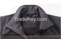 Newest Men's softshel jacket waterbroof breathable jacket