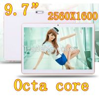 9.7 inch 3G Tablet PC Octa Core 4G RAM 64GB ROM Dual SIM Cards 8.0M