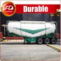 Bulk powder material transport truck tanker , 3 or 2 axle Cement Bulker semi trailer for sale in Pakistan