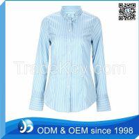 Custom 100% Cotton White Triple Collar Shirt
