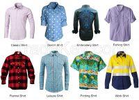 Custom 100% Cotton School Uniform Shirt for Boy