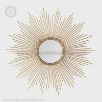 Large Mutli Rayed Sunburst Mirror Starburst Mirror Sunflower Mirror