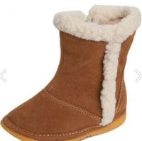 Squeaky Boots with Faux Fur Lining