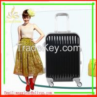 High quality factory price luggage bag colorful trolley luggage cases