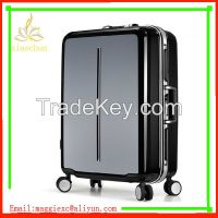 Best printing ABS PC hard shell 4 wheels Trolley Luggage