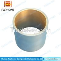 explosion welding clad bimetallic copper steel pipes for gas&oil pipe