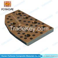 Bimetal Bronze/Brass/Copper Alloy Steel Self-lubricating Clad Sliding Plate