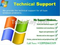 Fix any kind problem related to Windows & other software Call Now:+12092661349