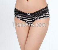 Black and White Animal Printed Women�s Seamless Panty