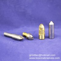 Single point diamond dressers, diamond profile dressing tools, chisel type diamond dresser