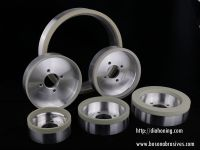CBN and Diamond Grinding Wheels, Vitrified Bond Diamond Grinding Wheels
