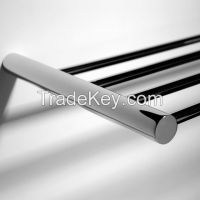 Towel rack brass chromed