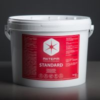 Thermal insulation and waterproofing coating. Akterm Standard.