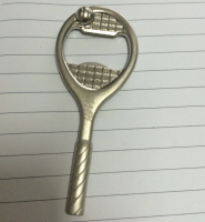 Tennis Racket Bottle Opener, Bottle Opener/ Cap lifter, Tennis Opener, Tennis gift, Tennis Racket gift