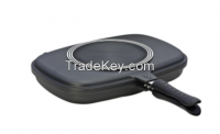 Square Double Fry Pan