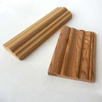 teak wood mouldings factory, High Quality door lipping, wood beading