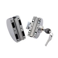 STAINLESS STEEL DOUBLE GLASS DOOR LOCKS CENTRAL DOOR LOCKS