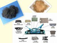 Polypropylene/PP Staple Fiber/PPSF for Automotive Interiors