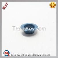 Custom Blue Brass Metal Eyelet for Shoes