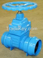 Socket end Resilient gate valve-for PVC pipe.