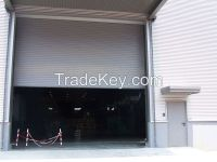 big industry rolling shutter, windproof shutter door