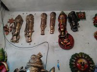 Terracotta sculptures, pots, vases, decorative items