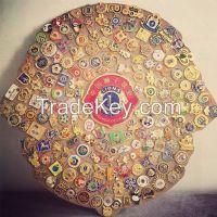 Custom badge, lions club international metal badge, soft enamel lapel pins, hard enamel, semi-cloisonne, printed pins