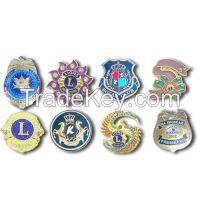 Custom badge, Lions club International Badge, Police Badge, Military Badge, School Badge, Car club Badge