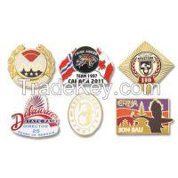 Custom badge, Epola lapel pins, semi-cloisonne pins, imitation cloisonne badge manufacturer