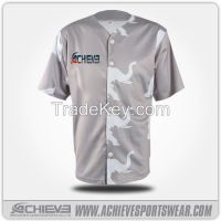 Hot selling short sleeve baseball jersey