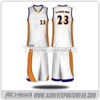 Custom Cheap Reversible Basketball Jerseys Design