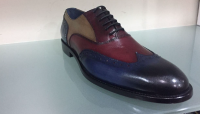 Men` leather shoes