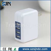 2016 New design multi port usb charger smart station for tablets and s