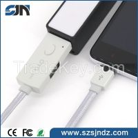 Wholesale universal data sync & charging micro USB 90 degree angle mic