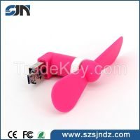 2016 New Factory Micro USB Fan USB Mini Fan Mini USB Fan For Phone