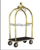 Luxury Hotel Copper Luggage Trolley (DF26)