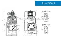 Rotary Piston Pump Used for Chemical Industry Vacuum Coating